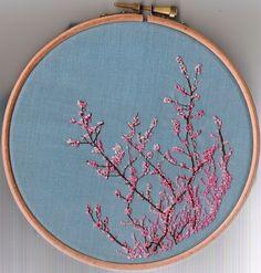 栗子头的相册-搞瞎眼系列——刺绣.    Embroidery. Tiny stitches, a labor of love - well worth it.