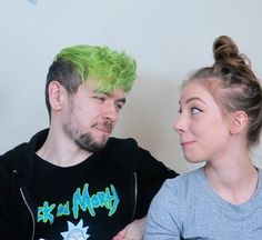 """I love the face that Singe gives Jack she is just like """"ooooo I know who does this!"""" From Who's More Likely To on Wiishu's channel."""