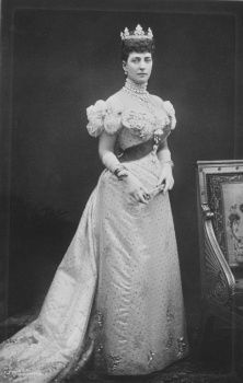 Portrait photograph of the Princess of Wales (1844-1925), later Queen Alexandra, 1890s