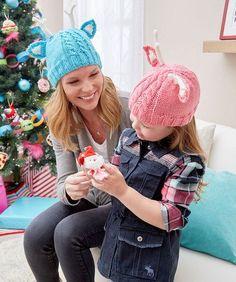 Reindeer Knit Hats