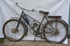 Велосипед с мотором.1950-1955