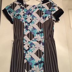 Peter Pilotto for Target summer dress Like new multi-pattern summer dress with Flirty hem. Knee length! Peter Pilotto for Target Dresses Mini