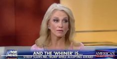 "Kellyanne Conway Accuses Meryl Streep of Inciting People's ""Worst Instincts"""