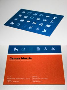 Self Identity Design - skill set represented with pictograms on a blue background ... #design #identity #self