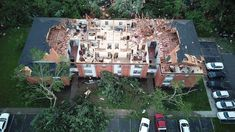 At least half a dozen communities from eastern Indiana through central Ohio suffered damage from tornadoes and severe weather, according to the National Weather Service.
