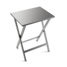 Mesa auxiliar plegable plata #mesa #auxiliar #casa #versa | Foldable auxiliary side table #table #auxiliary #home #versa