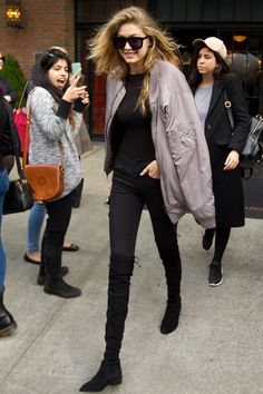 November 13: Gigi hadid and leah mccarthy out in NYC