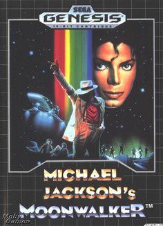 Michael Jackson's Moonwalker Sega Genesis