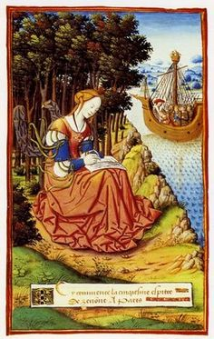 Penelope Writing Her Fifth Letter. French, c1496.
