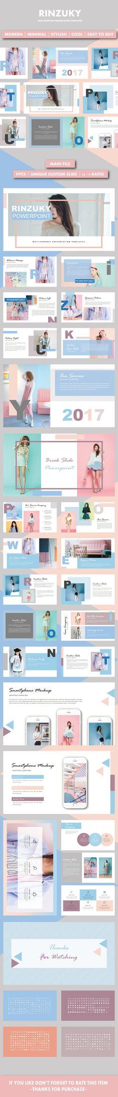 NOTION - Simple Creative PowerPoint Template Creative powerpoint - powerpoint brochure template