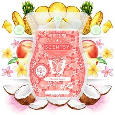 How does this sound ? Ripe pineapple and luscious peach blend sweetly over a bed of blooming plumeria.... is this a scent that tickles your fancy ? Scentsy Essential Oils, Essential Oil Diffuser, Ripe Pineapple, Replacement Dishes, Different Vegetables, Vanilla Glaze, Tomato Pie, Scented Wax