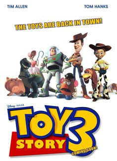 TOY STORY 3 (2010)  The toys are mistakenly delivered to a day-care center instead of the attic right before Andy leaves for college, and it's up to Woody to convince the other toys that they weren't abandoned and to return home.