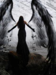 Fallen angel Dark Fantasy, Fantasy Art, Angels Among Us, Angels And Demons, Angel Falls, Gothic Angel, Dark Angels, Fallen Angels, Ange Demon