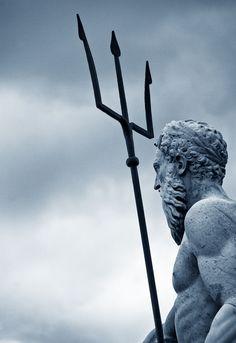 """johnnybravo20: """"Neptune Governing the Sea (by Stephanie Fysh) """""""