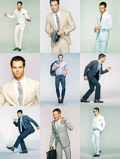 Chris Pine | Suit up!