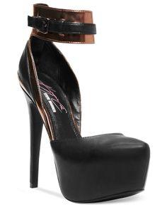 Keyshia Cole by Steve Madden Dashh Platform Pumps - Shoes - Macy's