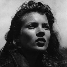 Kate Moss photographed by Bruce Weber