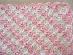 Crochet baby blankey