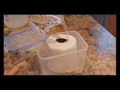 Papel higiénico con vinagre, la solución a todos tus problemas de higiene en el hogar - YouTube