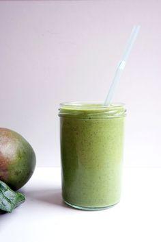 smoothie grün gesund clean eating blog