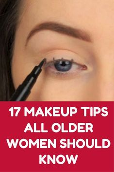 17 Makeup Tips All Older Women Should Know About (Slideshow)  #PatentArtPrints