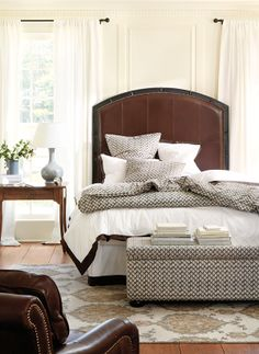 We're Into: Upholstered Headboards | How To Decorate