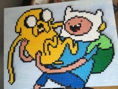 Adventure Time perler bead sprite