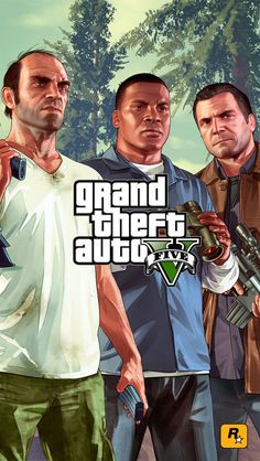Trevor, Franklin and Michael | GTA V