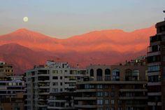 Sunset , Santiago de Chile