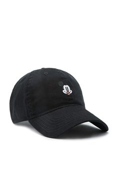 e27bc9e9eca27 A baseball cap featuring a Mickey Mouse embroidery and an adjustable back.-  Officially licensed