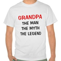 Discount Deals Grandpa the man myth legend tee shirt you will get best price offer lowest prices or diccount coupone