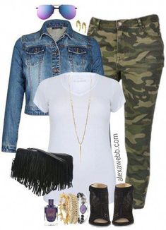 Plus Size Camo Pants Outfits Plus Size Camo Pants Outfits - Plus Size Fashion for Women - alexawebb. Camo Pants Outfit, Camo Outfits, Casual Outfits, Women's Pants, Long Pants, Women's Casual, Cargo Pants, Casual Shorts, Office Outfits
