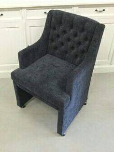 Grey chair living