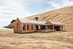 Patterson and Associates; Scrubby Bay House (New Construction); South Island, New Zealand, 2014.