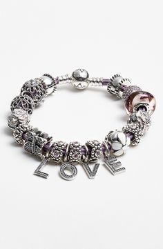 a9a901b88 Free shipping and returns on PANDORA Bracelet & Charms at  Nordstrom.com. Feminine