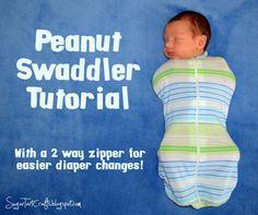 Sugar Tart Crafts: Peanut Swaddler Tutorial