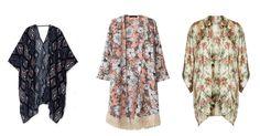 Summer trend 2014 wear it: kimono bershka zara topshop