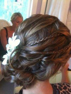 Wedding curly updo with braids #hairstyles #hairstyle #hair #long #short #medium #buns #bun #updo #braids #bang #greek #braided #blond #asian #wedding #style #modern #haircut #bridal #mullet #funky #curly #formal #sedu #bride #beach #celebrity  #simple #black #trend #bob