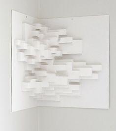 Paper sculpture no 1 by EGIL JANSSON