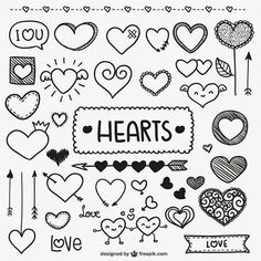 Cute heart bullet journal and planner doodles Doodle Drawings, Doodle Art, Doodle Images, Sketch Note, Heart Doodle, Doodle Lettering, Doodle Fonts, Typography, Baby Boy Quilts