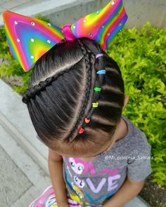 Hairstyles For Princesses Toddler Braided Hairstyles, Lil Girl Hairstyles, Short Hairstyles For Women, School Hairstyles, Everyday Hairstyles, Prom Hairstyles, Medium Hair Styles, Short Hair Styles, Gymnastics Hair
