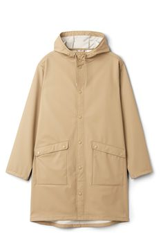 Weekday image 26 of Sune Raincoat in Beige