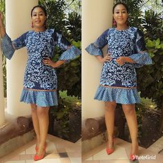 The complete pictures of latest ankara short gown styles of 2018 you've been searching for. These short ankara gown styles of 2018 are beautiful African Fashion Ankara, Latest African Fashion Dresses, African Print Dresses, African Dresses For Women, African Print Fashion, African Wear, African Attire, African Prints, Ankara Short Gown Styles