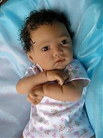 Reborn baby doll  created by Andama Dujon 30th March 2012