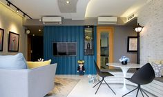 Apartment in Singapore by KNQ Associates