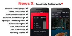 cool NewsX - Lovely News App - v1. (Templates)