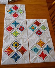 Cathedral Windows Quilt Free Tutorial