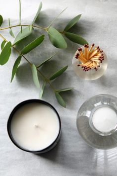 Vegan Candles, Soy Candles, Scented Candles, Candle Jars, Beeswax Candles, Flat Lay Photography, Photography Branding, Product Photography, Flat Lay Inspiration