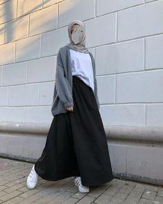 Stylish Hijab, Modest Fashion Hijab, Modern Hijab Fashion, Modesty Fashion, Casual Hijab Outfit, Hijab Fashion Inspiration, Islamic Fashion, Muslim Fashion, Mode Inspiration