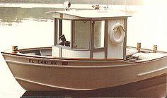 "15' 6"" Sherwood Queen - mini tug boat-boatdesign"